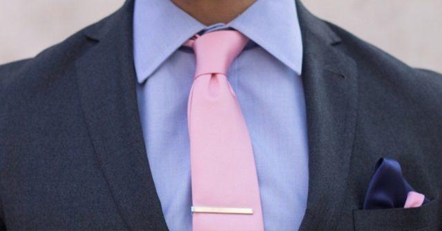 dark knot tie