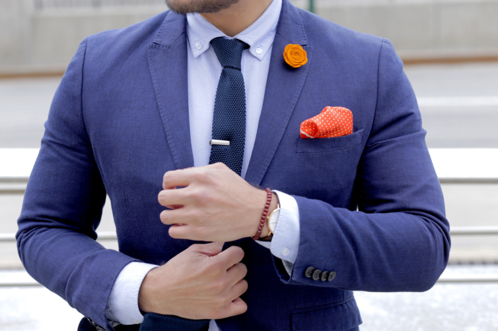 menswear suit inspired by nycfc navy suit