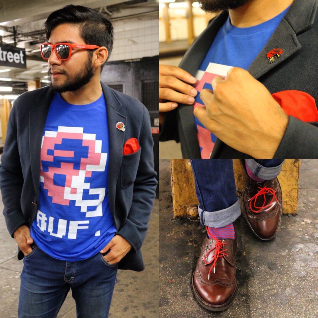 buffalo bills inspired menswear suit looks with a blazer