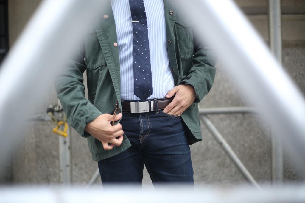 railtek belts in dark brown - How do you choose a belt