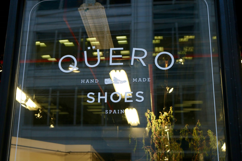 quero shoes pop up store nyc