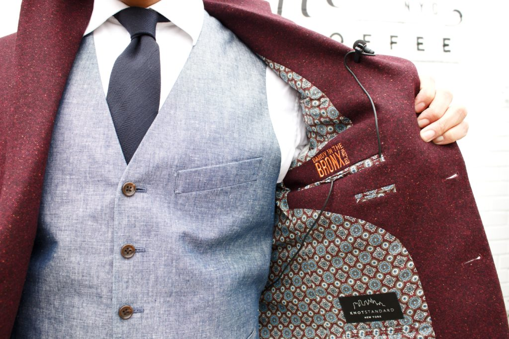 knot standard bespoke jacket