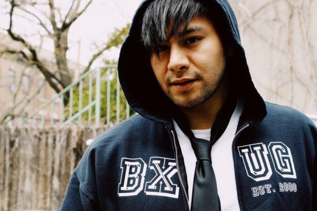 emo menswear style hoodie tie