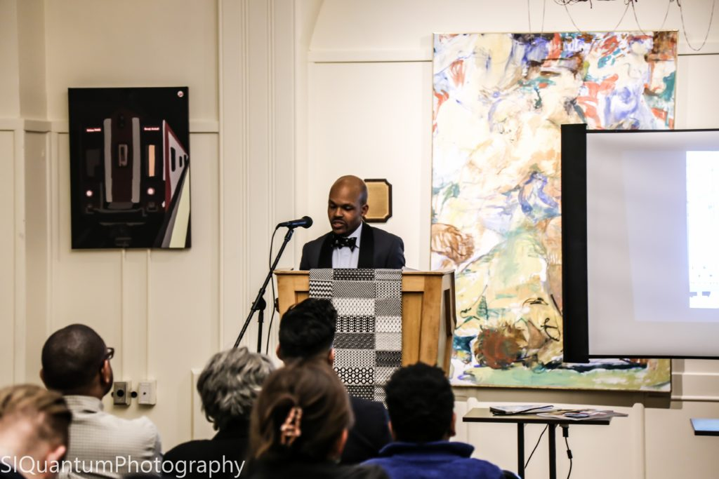FROM THE ELM TO THE EMPIRE - BOOK SIGNING AT YALE EVENT RECAP raheem nelson