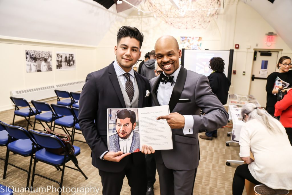 FROM THE ELM TO THE EMPIRE - BOOK SIGNING AT YALE EVENT RECAP raheem nelson diego leon dandy in the bronx