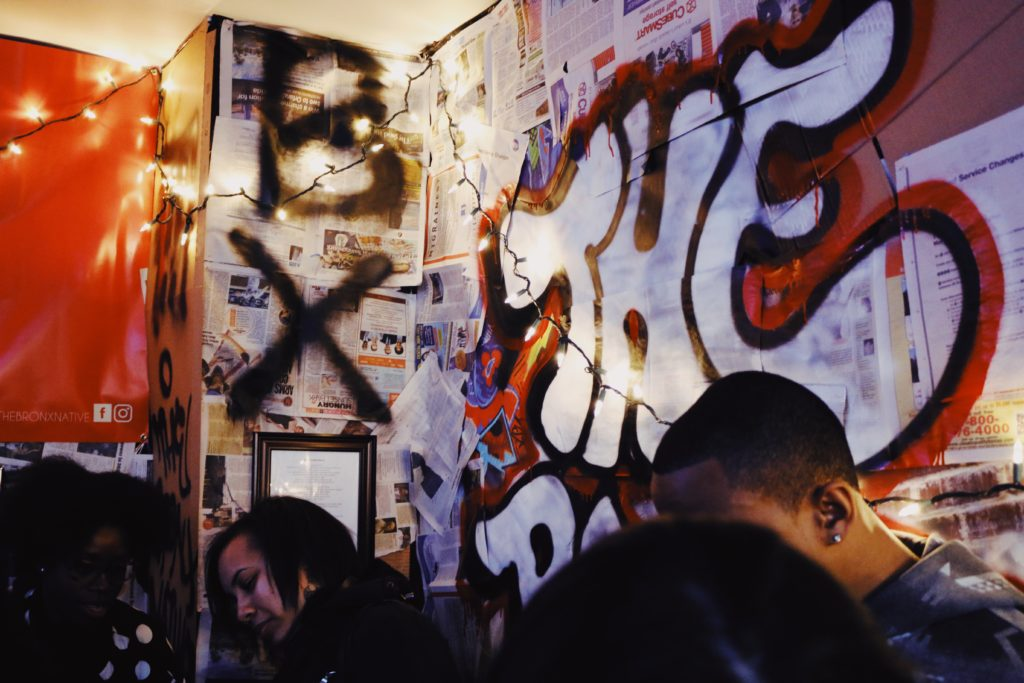 The boogie down bronx art event hosted by bronx native