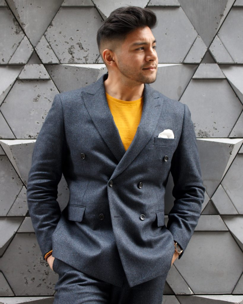 how to dress down a suit