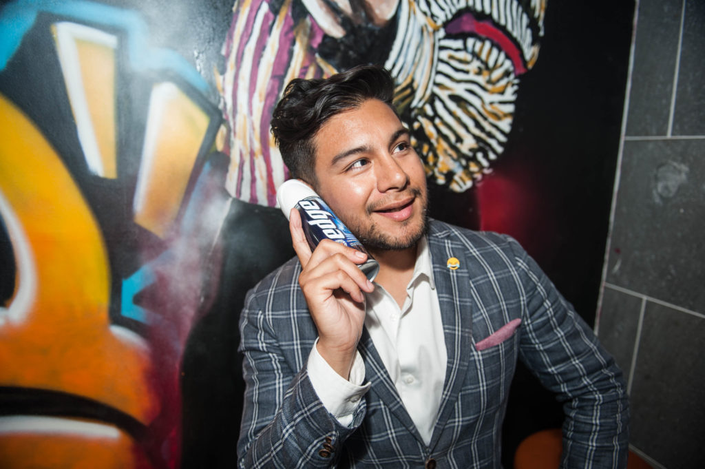 RECAP: Edge Cleansing Shave Gel Event with John Keegan, dating expert