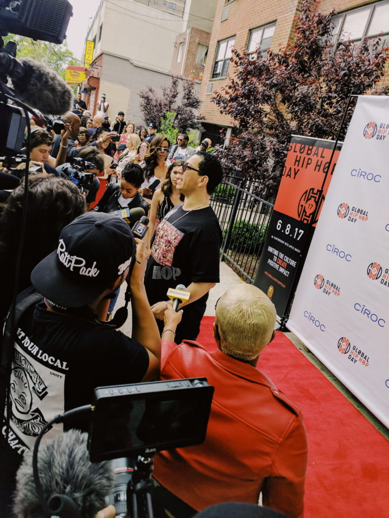 KID CAPRI AT global hip-hop day in the bronx