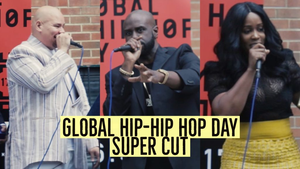 global hip-hop day in the bronx