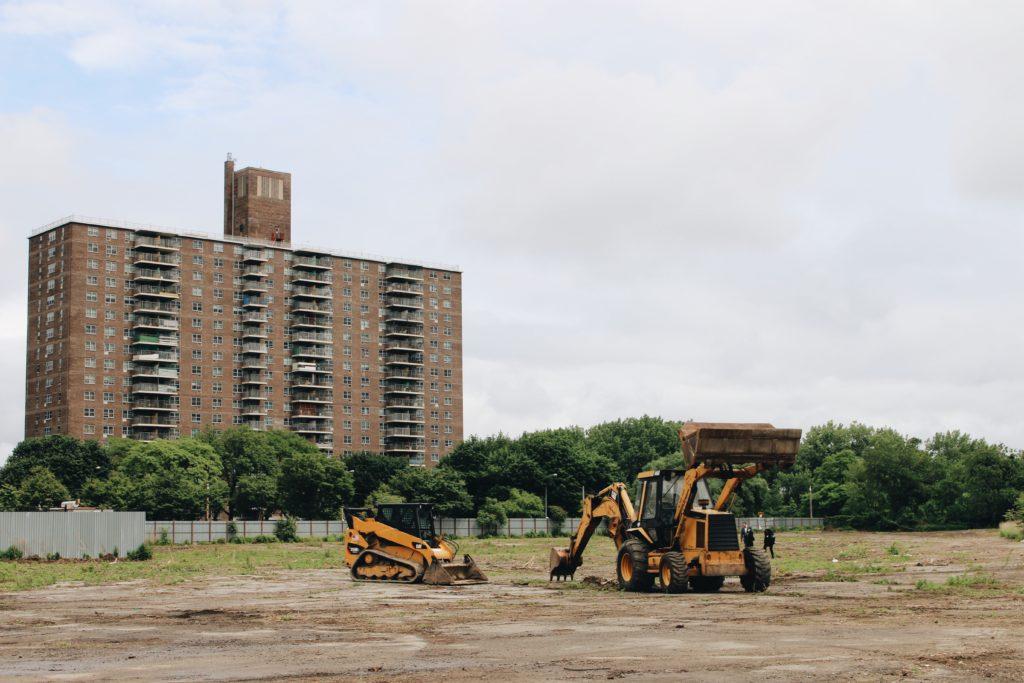 York Studios Bronx Property - ground view