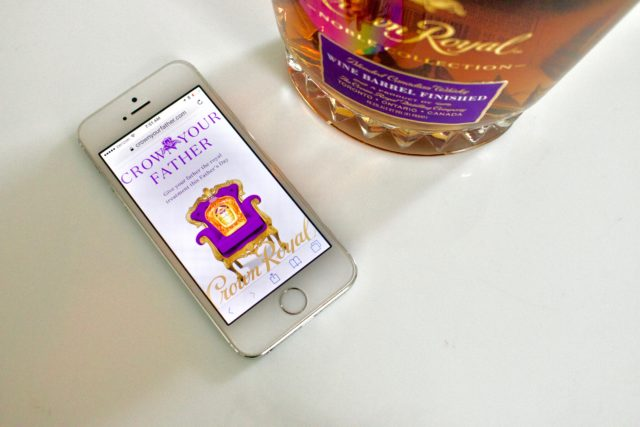 "Crown Royal Encourages You to ""Crown Your Father"" Leading Into Father's Day"