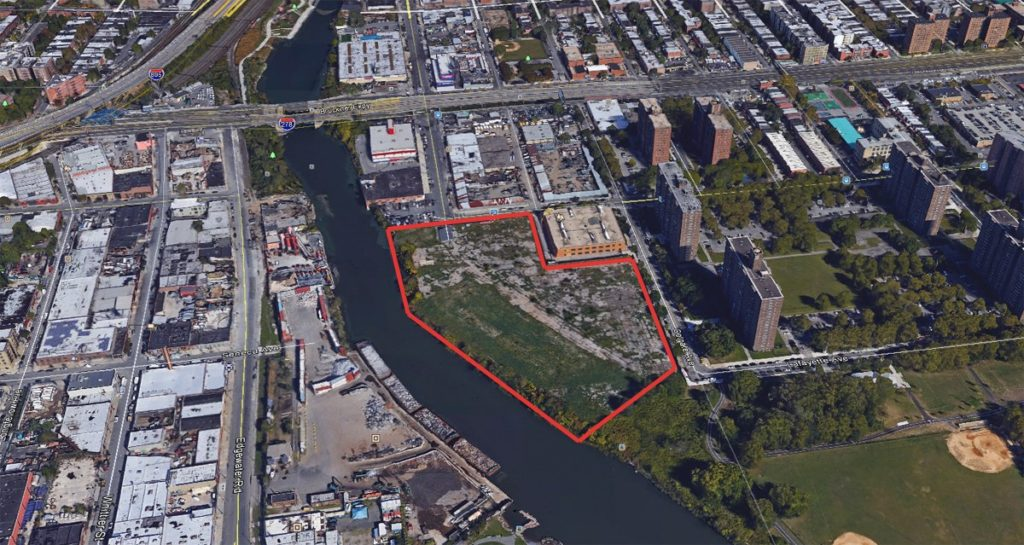 York Studios Bronx Property - Aerial View