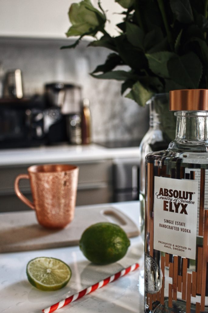 copper makes it better, hosting a party with absolut vodka