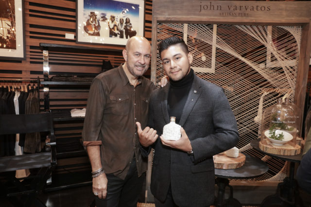 JOHN VARVATOS ARTISAN PURE LAUNCH