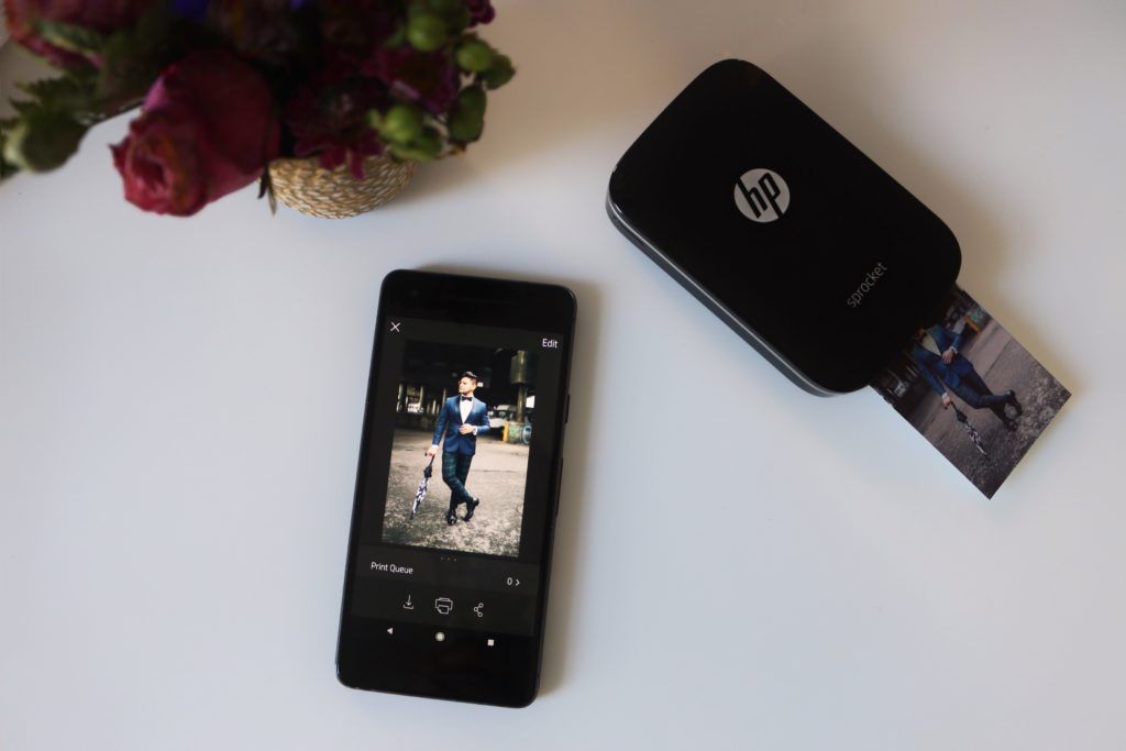HP Sprocket Portable Photo Printer - dandy in the bronx