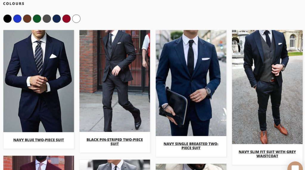 how to order a suit on thedrop.co