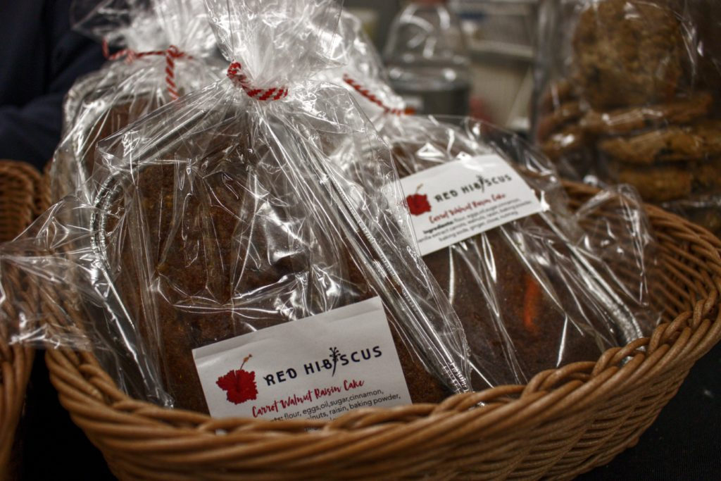 Red Hibiscus Bakery at the Third Avenue Holiday Market - dandy in the bronx