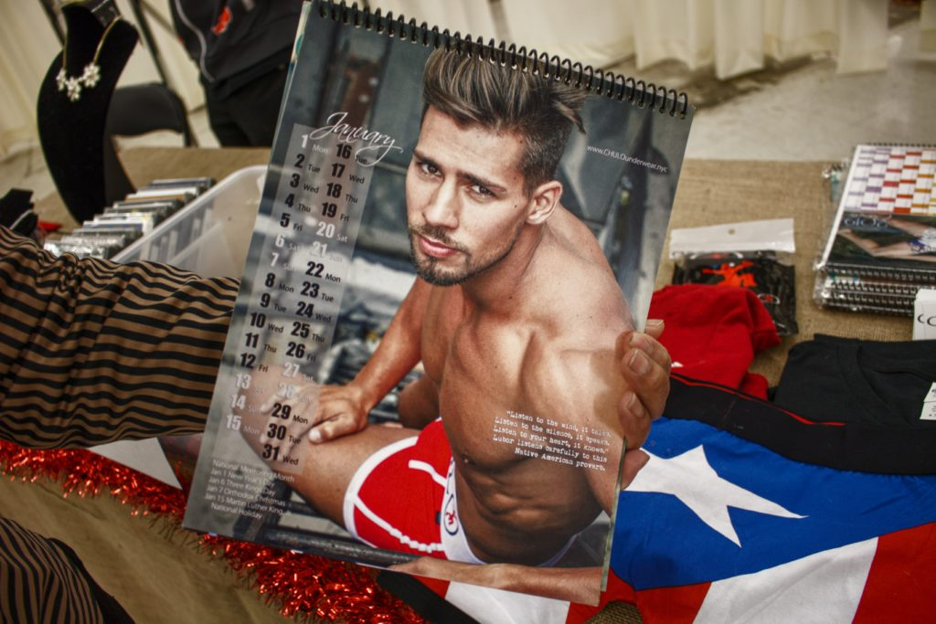 CHULO underwear - donating proceeds to LGBT youth organizations in the Bronx calendar - in the bronx