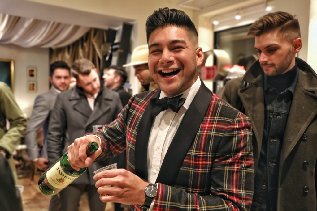 EVENT: MENSWEAR SIP & SOIREE AT TASTE COLLECTION - dandy in the bronx