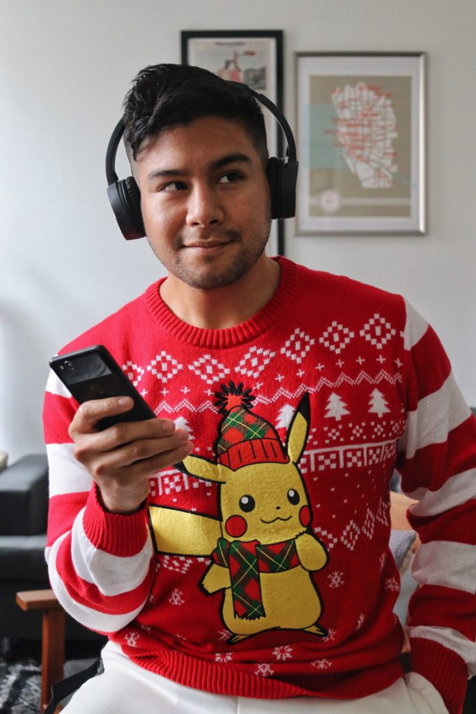 12 UGLY CHRISTMAS SWEATERS YOU CAN GET ON AMAZON - dandy in the bronx - pokemon pikachu