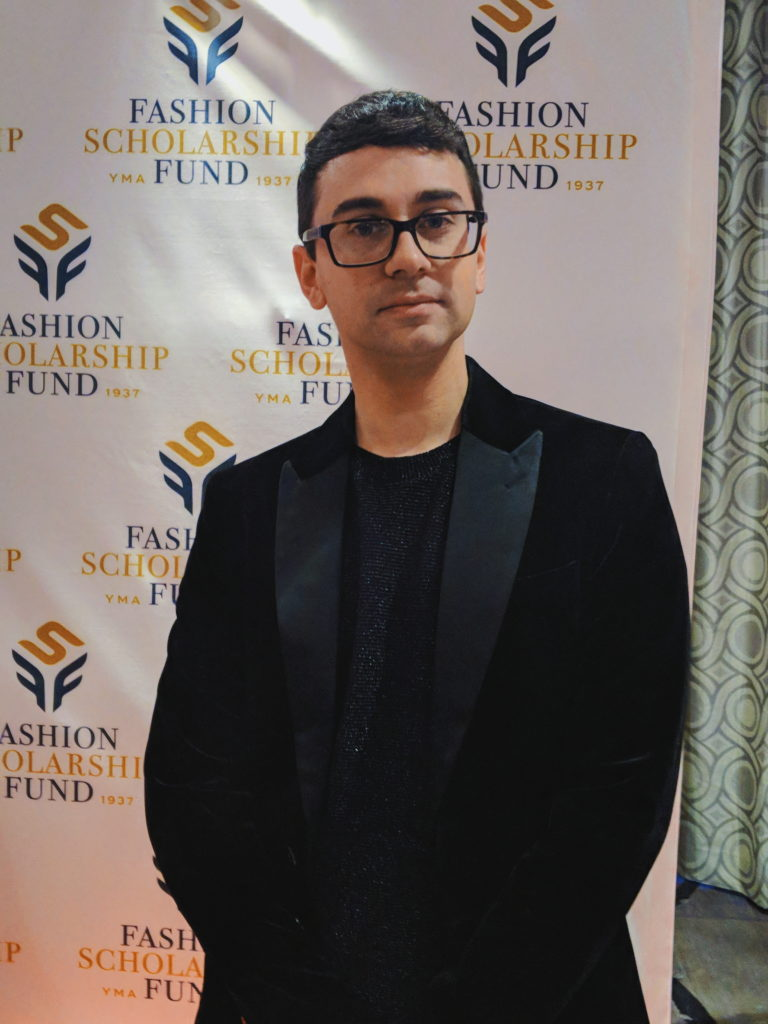 Christian Siriano at the 2018-annual-Fashion Scholarship Fund-fsf-national-merit-scholarship-awards dandy in the bronx