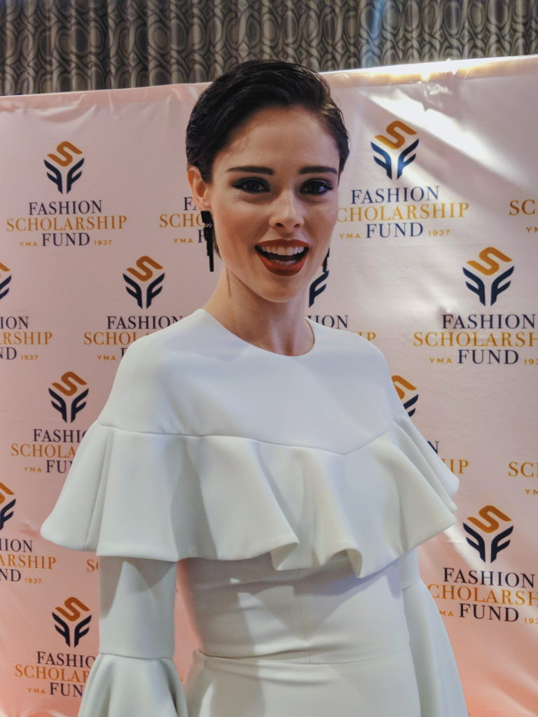 Coco Rocha at the 2018-annual-fashion-scholarship-fund-fsf-national-merit-scholarship-awards dandy in the bronx