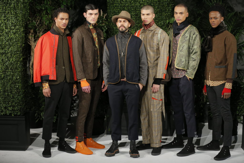 GROUP SHOT with Matteo of Descendant of Thieves AW2018 Presentation