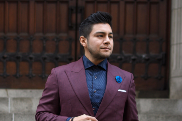 THREE WAYS TO WEAR A PIN DOT SHIRT - dandy in the bronx